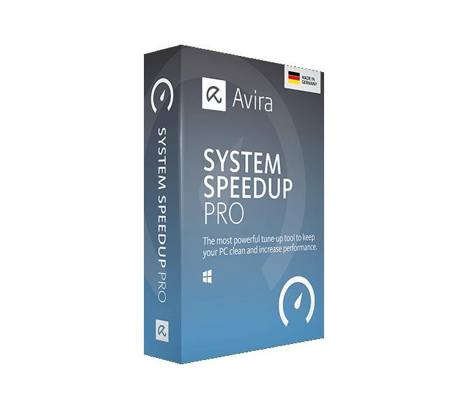 Avira System Speedup PRO, 1 PC, 2 Ani, Licenta Noua