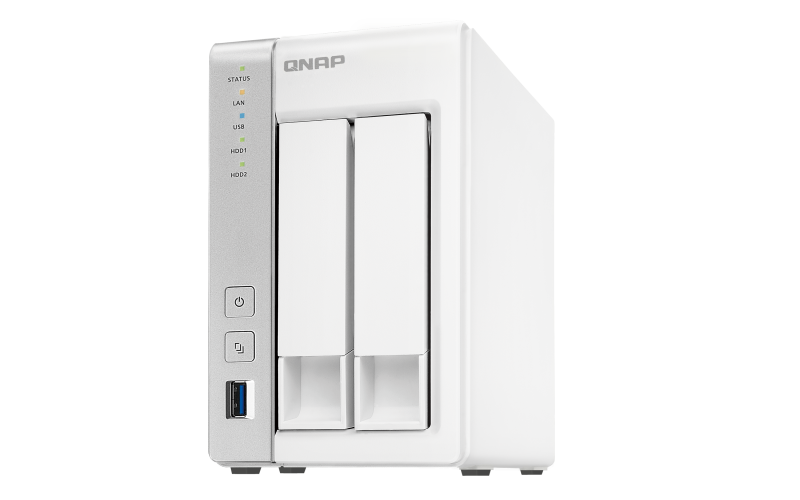 Network Attached Storage QNAP Tower NAS, TS-231P,  TS-231P