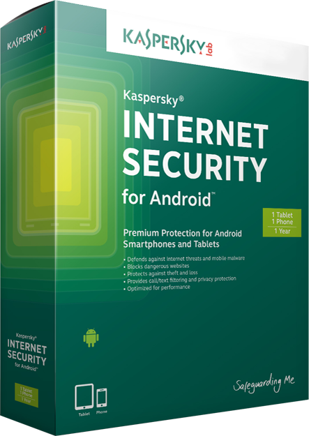 Antivirus Kaspersky Internet Security for Android, 2 ani, 1 licenta, Noua, KL1091XDADS,  KL1091XDADS