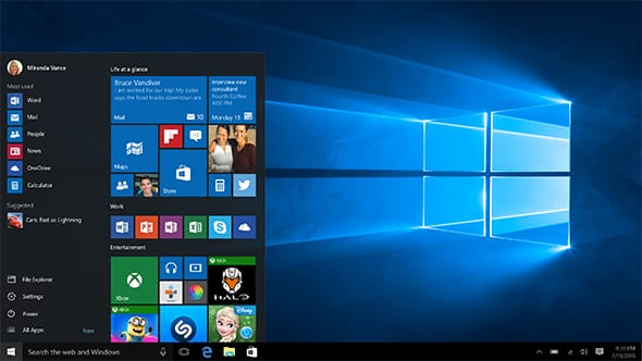 Microsoft Windows 10 Pro, 32/64 Bit, All Languages, Licenta electronica(ESD), FQC-09131,  FQC-09131