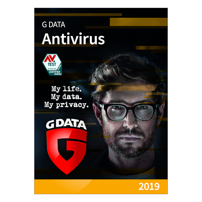G DATA Antivirus, 5 PC, 1 An, Licenta Noua, C1001ESD12005