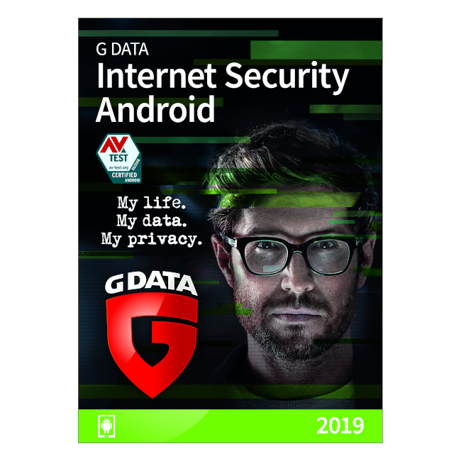 G DATA Mobile Internet Security , 2 Android, 1 An, Licenta Noua, M1001ESD12002