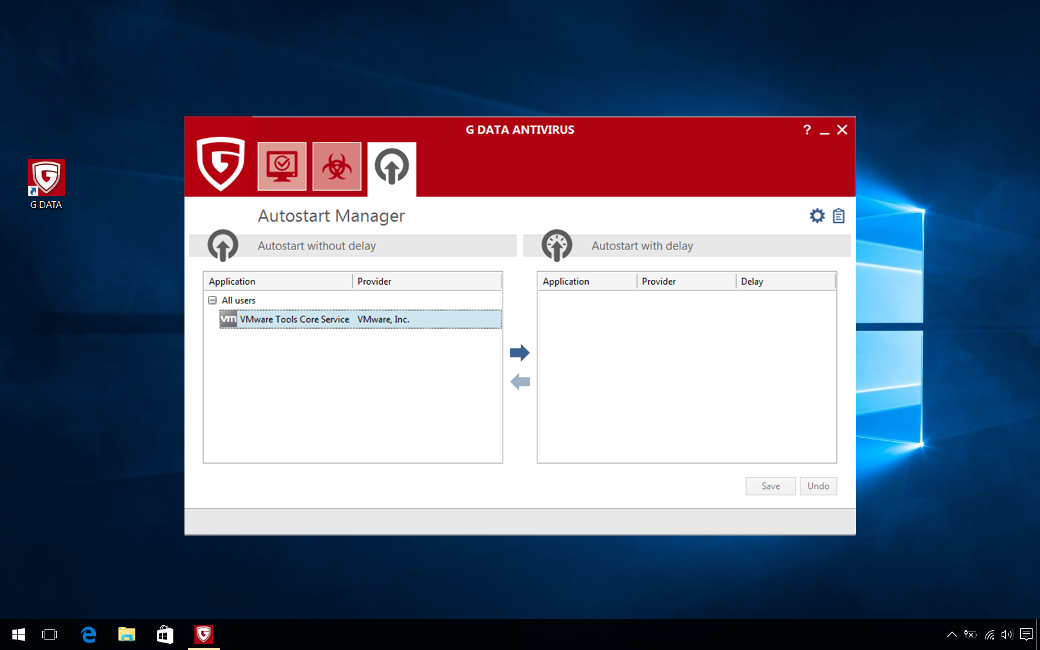 G DATA Antivirus, 8 PC, 2 Ani, Licenta Noua, C1001ESD24008