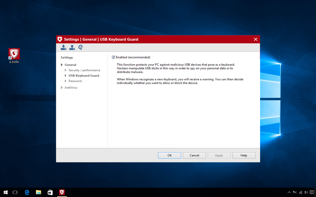G DATA Antivirus MAC, 10 PC, 1 An, Licenta Noua