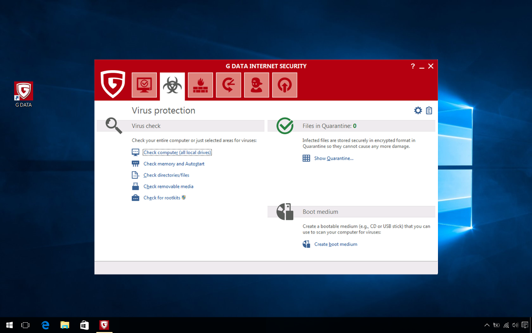 G DATA Internet Security, 10 PC, 3 Ani, Licenta Noua