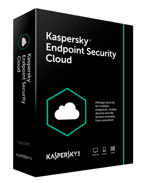 Antivirus Kaspersky Endpoint Security Cloud, 2 ani, 20 - 24 licente, Noua, KL4742XANDS,  KESC-2-20-24-LN